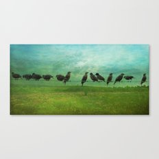 Collecting Canvas Print