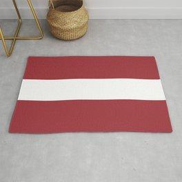 Flag: Latvia Rug