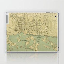 Vintage Map of Port Au Prince Haiti (1899) Laptop & iPad Skin