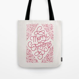 Classic Merry Christmas / RED Tote Bag