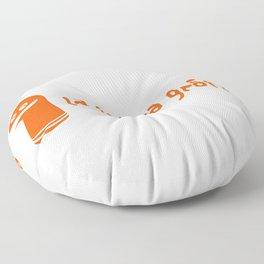 La Botica Gráfica (logo) Floor Pillow