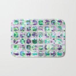 Jade and Violet Sequin Polka Dots Bath Mat