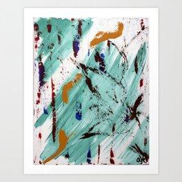 A Minty Past Art Print