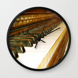 That Old Piano  Wall Clock