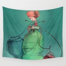 Plastic recycling Wall Tapestry