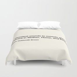 Mothers Day II Duvet Cover
