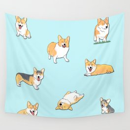 Corgi Wall Tapestry