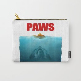 Paws poster Jaws Carry-All Pouch