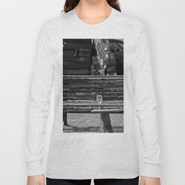 Somebody's glass of wine Long Sleeve T-shirt
