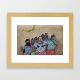 United Native Women Framed Art Print