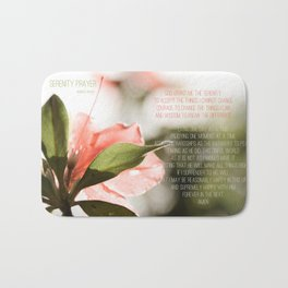 Serenity Prayer Bath Mat
