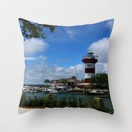 Harbour Town Light Throw Pillow