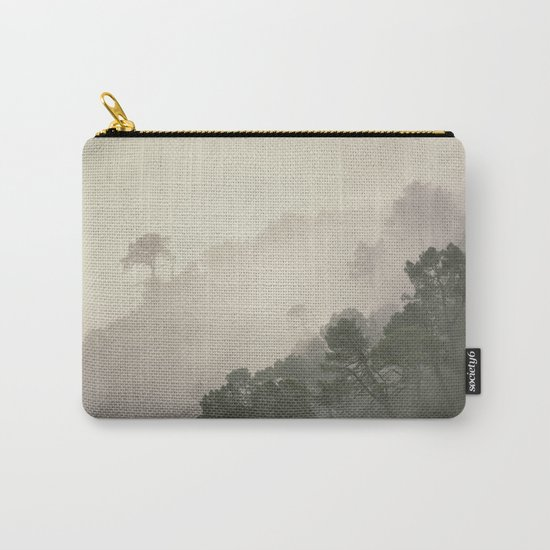 """""""Mountain light II"""". Foggy forest. Carry-All Pouch"""