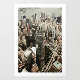 New York City Buildings Art Print