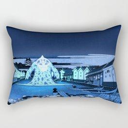36 Views of Mount Fuji Avatar Ocean Spirit Rectangular Pillow