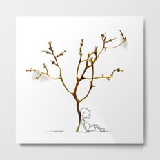 Grape tree Metal Print