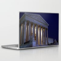 supreme Laptop & iPad Skins featuring Supreme court by Dr. Tom Osborne