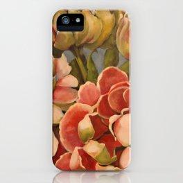 Peonies in Pink iPhone Case