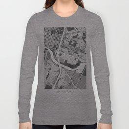 Austin Map Long Sleeve T-shirt