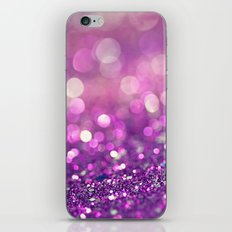 Pretty Purples  - an abstract photograph iPhone Skin