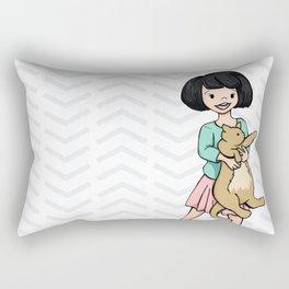 Aw, Kiiiiitty Rectangular Pillow
