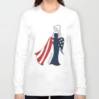 patriotic Long Sleeve T-shirts featuring Patriotic Sophie by philoSophie's
