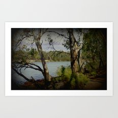 The Mighty Murray River Art Print