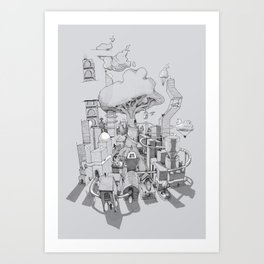 Impossible City Art Print
