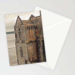 Mont St. Michel - Square Tower - Brittany France Stationery Cards