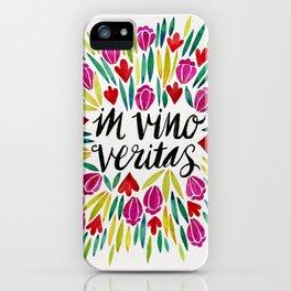 In Vino Veritas iPhone Case