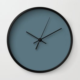 Plain Teal to Coordinate with Simply Design Color Palette Wall Clock