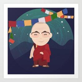 The Dalai Lama Art Print