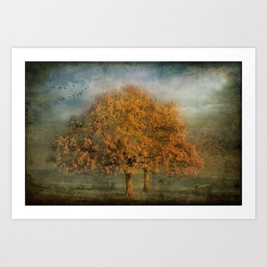 The Oak of Gold Art Print