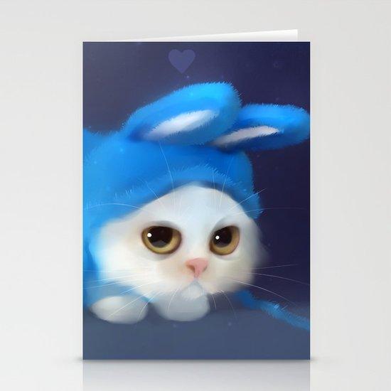 Team Bunny Stationery Cards