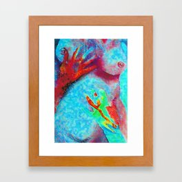 Nuclear Future! Framed Art Print