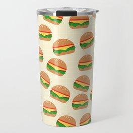 Cute Burgers Travel Mug