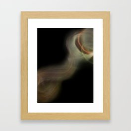 Smoke Monster Framed Art Print