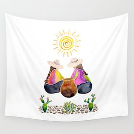 Colourful South American memories Wall Tapestry