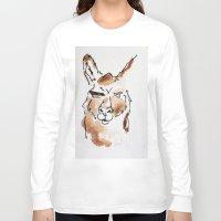 llama Long Sleeve T-shirts featuring Llama by Bryan McKinney