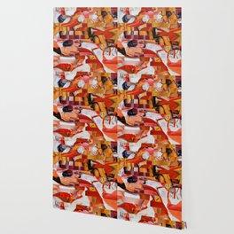 Spooning de Kooning (Provenance Series) Wallpaper