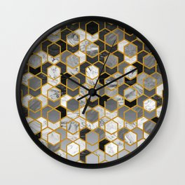 Scandinavian Geometry Wall Clock