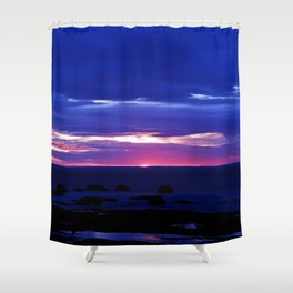 Dusk on the Sea Shower Curtain