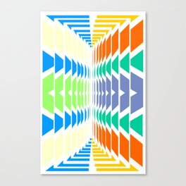 INDIAN ABSTRACT Canvas Print