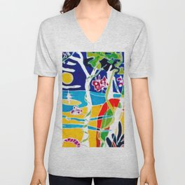 An Aussie kinda of a Day!        by Kay Lipton Unisex V-Neck