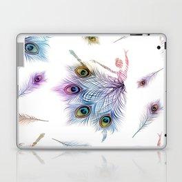 Peacock Dancer Laptop & iPad Skin