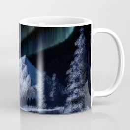 Bob Ross Alaskan Northern Lights Coffee Mug