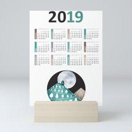 Calendar 2019, landscape Mini Art Print