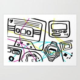 Child of the '90s Art Print