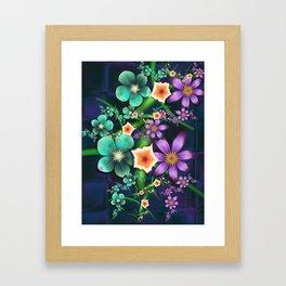 Flower Crop Framed Art Print