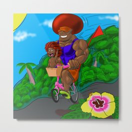 Father of the year Metal Print
